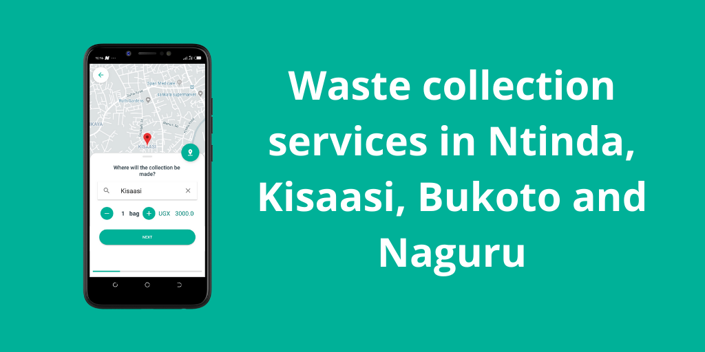 Waste collection services in Kisaasi, Ntinda, Naguru & Bukoto