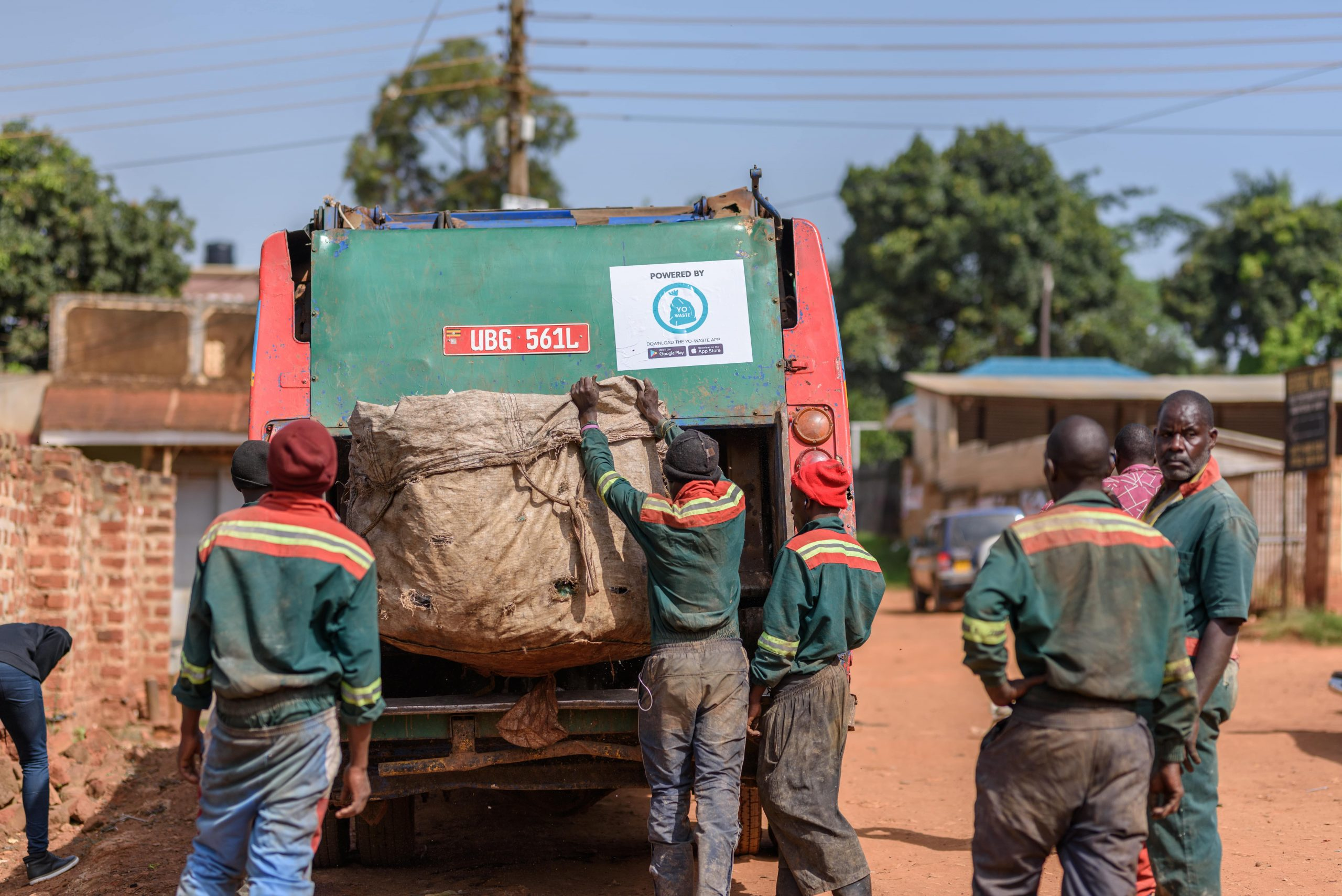 How The Yo-Waste Mobile App is Transforming The Waste Management Industry In Kampala